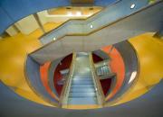 Knihovnicko-informační centrum HK - natěračské práce - interiér