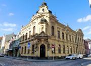 Prvorepublikových dům v historické části Hradce Králové
